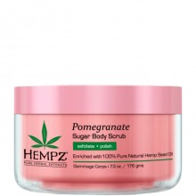 HEMPZ Body Scrub Sugar & Pomegranate - Скраб для Тела Сахар и Гранат 176гр