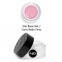 nano professional Gel - Гель базовый Silk Base Gel 15мл