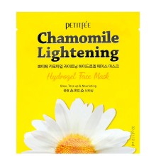 PETITFEE Chamomile lightening hydrogel face mask - Маска гидрогелевая с экстрактом РОМАШКИ 5 х 32гр