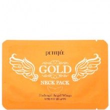 PETITFEE GOLD neck pack - Маска для шеи с ЗОЛОТОМ 5 х 20гр