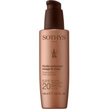 SOTHYS SUN CARE Protective fluid face and body SPF20 - Молочко  для лица и тела СЗФ20, 150мл