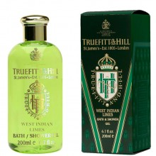 TRUEFITT & HILL BATH & SHOWER GEL West Indian Limes - Гель для душа WEST INDIAN LIMES 200мл